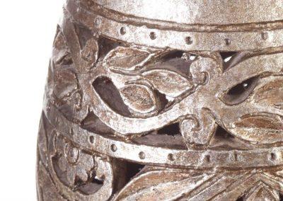 Kaspó antik ezüst